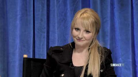 Melissa Rauch reveals an embarrassing story about removing her smurf makeup after filming an episode of The Big Bang Theory.