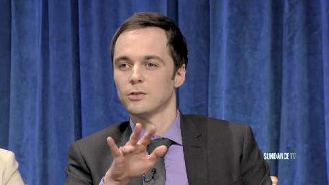 Jim Parsons discusses the spanking scene from The Big Bang Theory between him and Mayim Bialik.