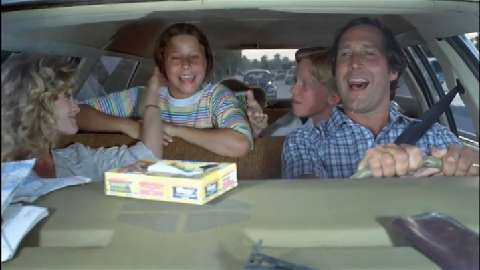 "Take a road trip with Chevy Chase athis memorial Day weekend with the ""Vacation"" marathon."