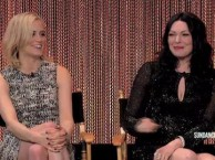 Laura Prepon talks about trusting her co-stars when working on scenes outside of her comfort zone.