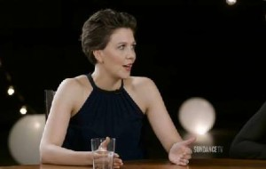 Maggie Gyllenhaal discusses facing pressure head on withTHE HONORABLE WOMAN.