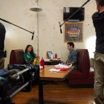 Amantha Holden and Jon Stern in Rectify Behind the Scenes 304