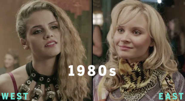"""DEUTSCHLAND 83″ 1980′s Fashion: East vs. West Germany"