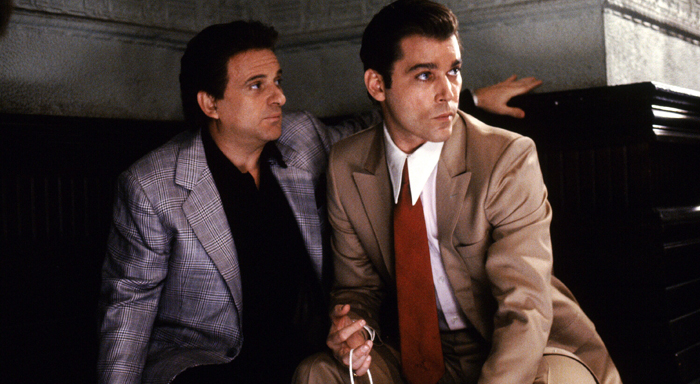 Joe Pesci and Ray Liotta in Goodfellas