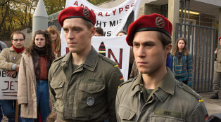 Deutschland 83 Martin Rauch/Moritz Stamm (Jonas Nay) and Alex Edel (Ludwig Trepte) in Episode 7