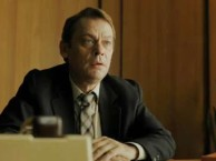 Actor Sylvester Groth talks about pulling strings as spy administrator Schweppenstette.