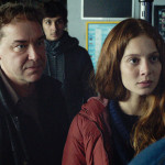 Pierre (Jean-Francois Sivadier), Lena (Jenna Thiam) and Toni (Gregory Gadebois) in THE RETURNED Episode 202.