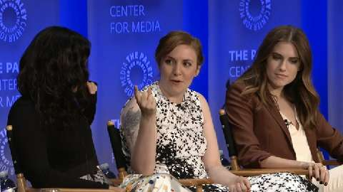 "Lena Dunham, Allison Williams, Alex Karpovsky, Jenni Konner, Andrew Rannells and more discuss ""Girls."""