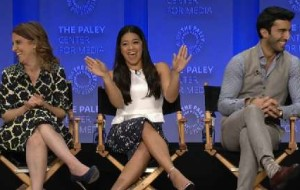 Gina Rodriguez reveals how special it was to represent the Latin American community in winning a Golden Globe Award for Jane the Virgin.