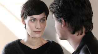 Adele (Clotilde Hesme) and Simon (Pierre Perrier) in Episode 205.