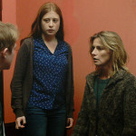 Esteban (Thomas Doret), Camille (Yara Pilartz), Claire (Anne Consigny) and Audrey (Armande Boulanger) in THE RETURNED Episode 202.