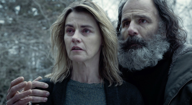 Claire (Anne Consigny) and Jerome (Frederic Pierrot) in Episode 208.