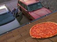 Walt takes his anger out on the pizza after Skyler shuts him down.