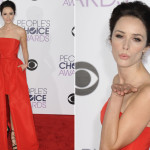 Abigail Spencer Peoples Choice 2016 Red Carpet