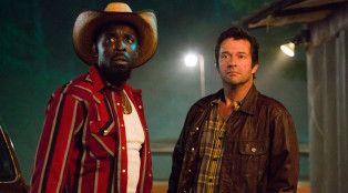 Leonard (Michael Kenneth Williams) and Hap (James Purefoy)