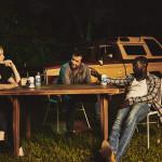 Trudy (Christina Hendricks), Hap (James Purefoy), and Leonard (Michael Kenneth Williams)