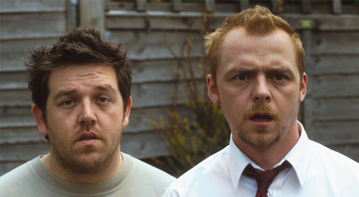 Nick Frost and Simon Pegg in Shaun of the Dead 700x384