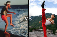 """The Karate Kid"" Showdown: Daniel LaRusso Versus Dre Parker"
