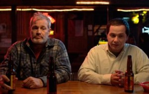 In a dusty Texas bar, a chatty stranger insists on striking up a conversation with the man sitting next to him. The more this out-of-towner talks, the more obvious it is he's not from 'round here.