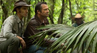 Paco (Neil Sandilands), Hap (James Purefoy) and Leonard (Michael Kenneth Williams) in Episode 102.