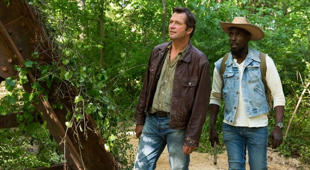 Hap (James Purefoy) and Leonard (Michael Kenneth Williams) in Episode 102.