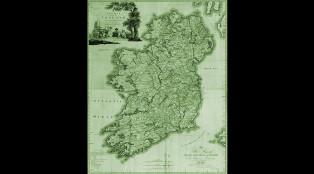 Map of Ireland 700x384