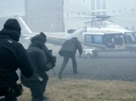 The crew of THE LAST PANTHERS takes you behind the scenes of Dragan's daring escape by helicopter.