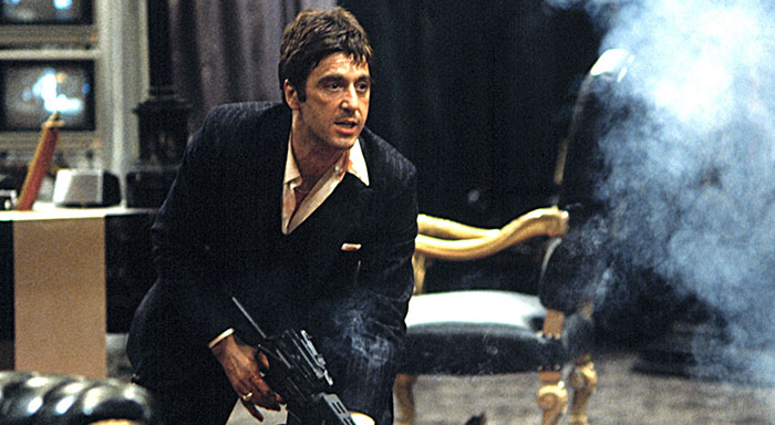 Gomorrah five true mob stories behind scarface for Occhiali al pacino scarface