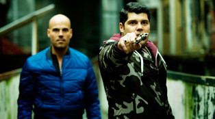 Ciro (Marco D'Amore) and Genny (Salvatore Esposito) in Part 1.