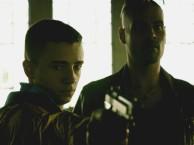 Ciro teaches Daniele how to shoot.