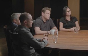 Matt Damon recounts working behind the scenes with Steven Soderbergh and Gus Van Sant.