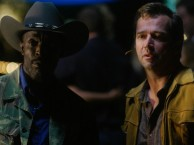 Hap and Leonard confront Otis with evidence linking him to the missing boys.