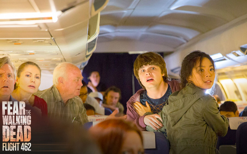 Keep Your Fear Levels Up With Fear The Walking Dead Flight 462 Featuring Character Who Cross Over Into Fear The Walking Dead Season 2