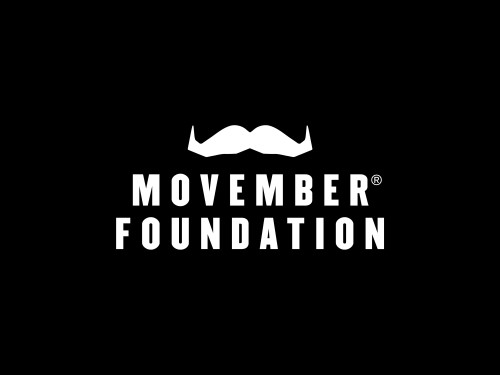 Movember Foundation_Primary Logo_White