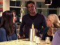 Megan joins her friends during happy hour, but instead of finding a drink she finds a hottie.