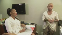 Tamar explains her plus one boyfriend rule...until Vince walks in.