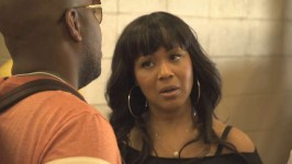 In this deleted scene, Mary Mary's musical director, Gerald, gets defensive when Erica's unhappy with a new sound guy.