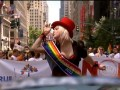 Ladies and gentlemen, the Grand Marshall of the NYC Gay Pride Parade, Cyndi Lauper!
