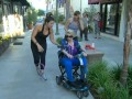 In this deleted scene, fans stop Joan on the street demanding to know why she's on a scooter.