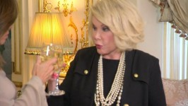 "In this deleted scene, Joan and Melissa toast to the ""good looking men we lost this week."""