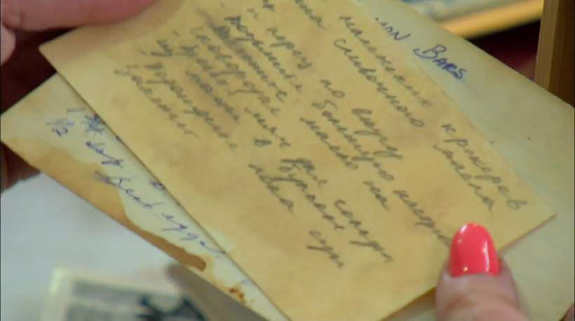 Joan discovers her grandmother's recipe box. Just one problem... they're all in Russian.