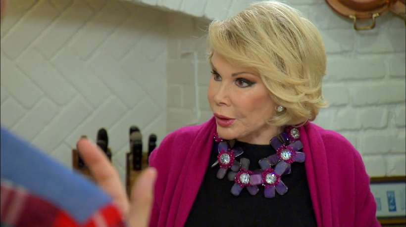 According to Melissa, Joan can even make sacred recipes dirty.