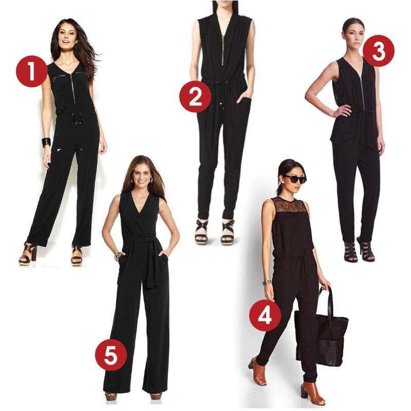 We Tell All Fashion Forward 5 Lbjs Little Black Jumpsuits We Tv