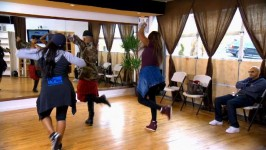 The girls work with a new choreographer and Taj starts to feel dizzy while rehearsing.