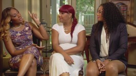 Towanda, Traci and Trina dish about their vacation to Jamaica.