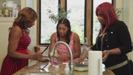 In this deleted scene, Trina's never been more sure of anything in her life.