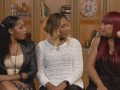 Towanda, Traci and Trina dish about the housewarming party.
