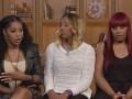 Towanda, Traci and Trina dish on the drama between Tamar and Toni over the single.