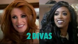 David is taking on Porsha Williams and Angie Everhart. It's a two-night event you won't want to miss!