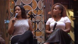 Erica and Tina speak to their fans on the cruise but Tina is still upset about Erica breaking up Mary Mary.